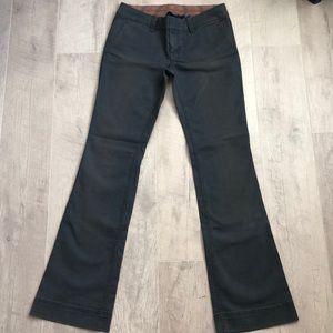 American Eagle Blue Khaki Bootcut pants size 2